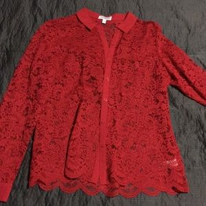 Express Red Lace Portifino
